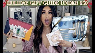 Download BEST HOLIDAY GIFT GUIDE UNDER $50 DOLLARS FOR HER! AFFORDABLE GIFT SETS, FASHION, & HAIR Video
