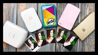 Download Mini Photo Printer Comparison | LG Pocket, Polaroid Zip, Kodak Mini Printer, Fujifilm, HP Video