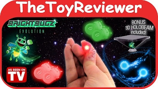 Download Bright Bugz Evolution Magic Lights Red and Green 3D Holobeam Unboxing Toy Review by TheToyReviewer Video
