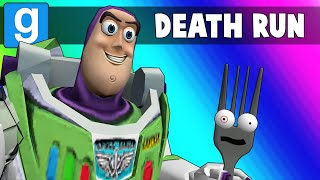 Download Gmod Death Run Funny Moments - Saving Forky from the Toy Story 4 Course! (Garry's Mod) Video