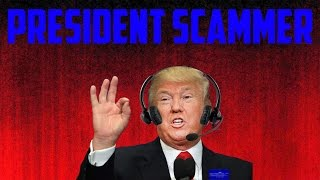 Download SCAMMER WANTS TO BE THE PRESIDENT! Video