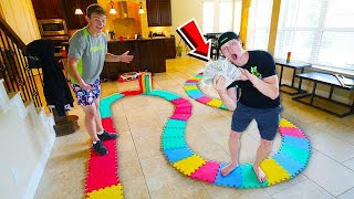 Download WORLD'S BIGGEST GAMEBOARD! LOSER PAYS $10,000! Video