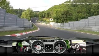 Download SLS AMG Coupé Black Series on the Nordschleife Video
