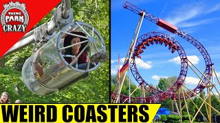 Download 10 WEIRD and Unusual Roller Coasters Video