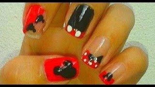 Download Diseño uñas Mickey y Minnie Mouse Disney✿✿✿ | Disney Mickey and Minnie Mouse Nails design ✿✿✿ Video