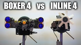Download The Differences Between Inline Four & Boxer Four Engines Video