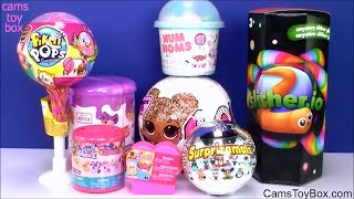 Download LOL Glitter Surprise Toys Pikmi Pops Num Noms 4 Lalaloopsy Slitherio Surprizamals Holiday Edition Op Video