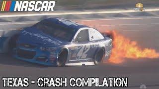 Download Nascar - 2017 - Texas - Crash Compilation Video