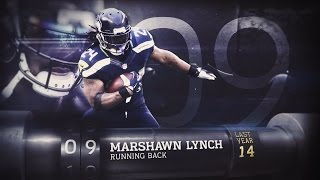Download #9 Marshawn Lynch (RB, Seahawks) | Top 100 Players of 2015 Video