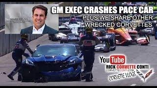 Download 2019 ZR1 CORVETTE PACE CAR WRECK & OTHER CRASHED CORVETTES Video