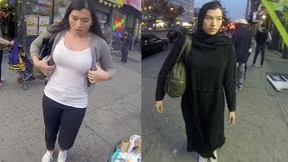 Download 10 Hours of Walking in NYC as a Woman in Hijab Video