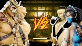 Mortal Kombat 9 - All Fatalities & X-Rays on She Scorpion