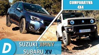 Download Comparativa 4x4 ¡al límite!: Suzuki Jimny vs Subaru XV | Prueba Offroad | Diariomotor Video
