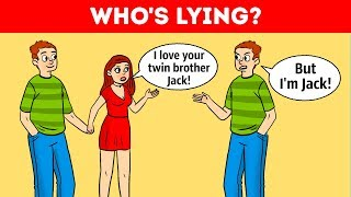 Download Who's Lying? 10 Detective Riddles To Workout Your Logic Video