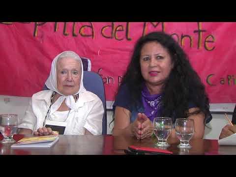 Nora Cortiñas visitó en Bouwer a Flavia Saganías y pide su libertad