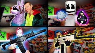 Download Nerf meets Fortnite | Real Life Fortnite Nerf Gun Mods! Video