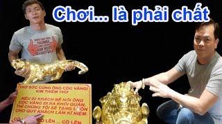 Download Đại gia Phúc XO khoe bí mật phong thủy cóc vàng, hổ vàng mà ai bê nổi cho luôn - Guufood Video