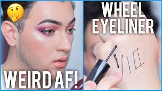 Download MAC Roller Wheel Pizza Cutter Eyeliner Tested... Honest AF Review! Video