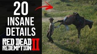 Download 20 INSANE Details in Red Dead Redemption 2 (Part 1) Video