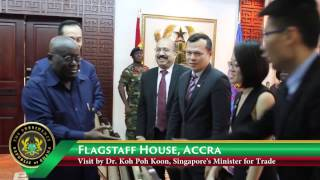 Download Trade Ministry of Singapore Calls on President Akufo-Addo Video