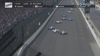 Download IndyCar Series 2017. Indy 500. Restart & Amazing Battle for Win Video