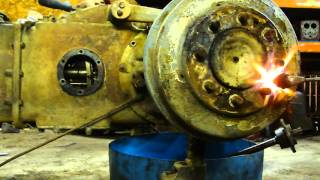 Download Ferguson tractor brake drum retainer screw removal the easy way. Video