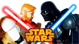 Download LEGO Star Wars 75111 Darth Vader vs 75109 Obi Wan Kenobi Video