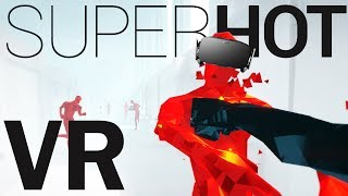 Download Dodging Bullets and Freezing Time! - SUPERHOT VR Gameplay - Oculus Rift VR - Virtual Reality Video