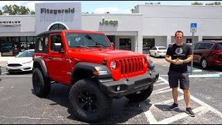 Download Is the 2019 Jeep Wrangler Sport the BEST BANG for your BUCK? Video