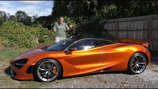 Download Here's Why the McLaren 720S Is Worth $300,000 Video