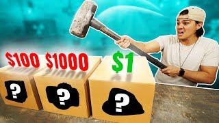 Download $1 Vs. $1000 Dollar Mystery Box Challenge! Video