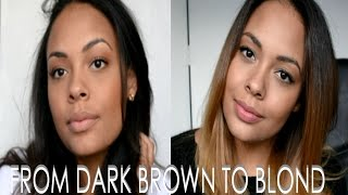 Download DECOLORER SES CHEVEUX - Passer de Brune à Blonde - From Dark Brown to Blond Video