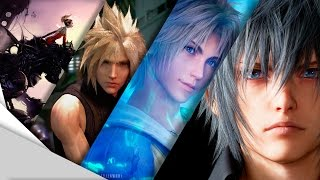 Download The Evolution of Graphics: Final Fantasy (Main Series) 1987 - 2016 Video