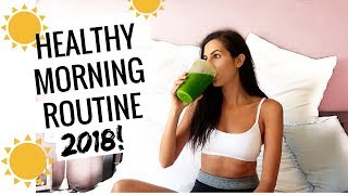 Download My Healthy Morning Routine 2018 // Mindfulness, Home Workout, Breakfast Video