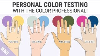 Download Finding Your Skin Undertones | Easy Personal Color Test with the Color Professional! Video