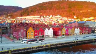 Download Amazing city of Bergen filmed with Drone (4K) Video