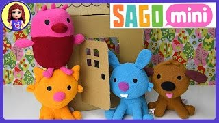 Download Sago Mini Friends Plush Toys Gift Pack Set Unboxing Review and Play - Kids Toys Video