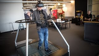 Download Hands-On with VR OmniDirectional Treadmill! Video