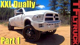 Download Is this Custom XXL Ram 3500 HD Cummins Diesel the Ultimate Badass Dually? (Part 1 of 2) Video