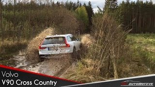 Download Volvo V90 Cross Country POV Test Drive in Offroad Video
