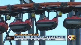 Download Power goes out at Kings Island Video