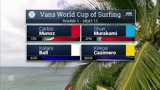 Download 2016 Vans World Cup: Round One, Heat 11 Video