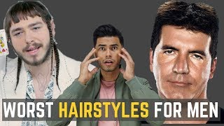 Download 6 UGLIEST Hairstyles Men Should AVOID! | DO NOT WEAR THESE! Video
