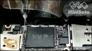 Download Ремонт iPhone 4 (переустановка процессора A4) Video