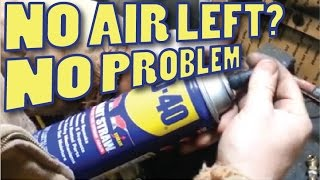 Download Refill flat AEROSOL Spray Cans like the WD-40 and others Video