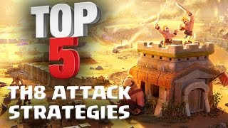 Download Top 5 BEST TH8 Attack Strategy for 3 Stars in Clan Wars | ft. Reddit Pirates | Clash of Clans Video