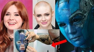Download Karen Gillan Transformation to Nebula - Guardians of the Galaxy Vol.2 Behind the Scenes - 2017 Video
