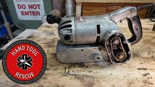 Download 1950s Chain-driven Belt Sander [Restoration] Video