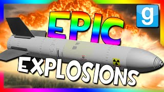 Download EPIC BOMB TESTING!!! | Nukes, Bombs, and Missiles (Garry's Mod Sandbox) Video