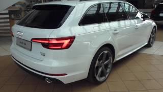 Download 2017 Audi A4 Avant ''Black Edition'' S-Line 2.0 TFSI 252 Hp Exterior & Interior * Playlist Video